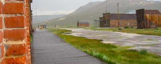 Ghost Town of Bodie, California