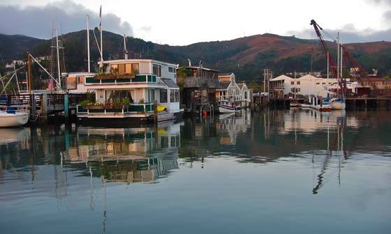 Houseboats in Sausalito