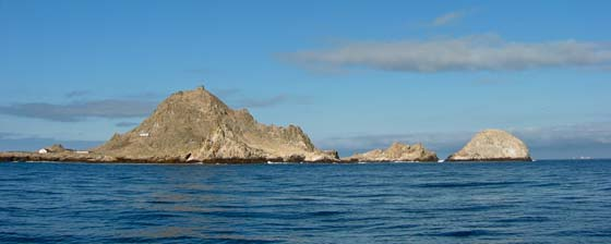 Approaching the Farallones