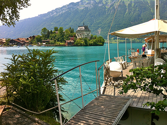 Iseltwald   Lake Brienz   June 2014