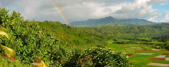 Rainbow near Princeville