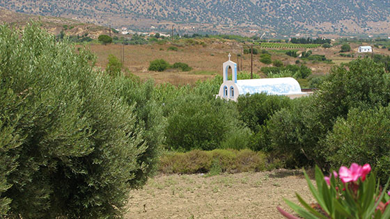 Chapel of the Forty Martyrs of Sebaste (also known as the Holy Forty) while approaching Kardamena