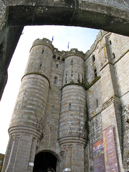 Entrance of the abbey