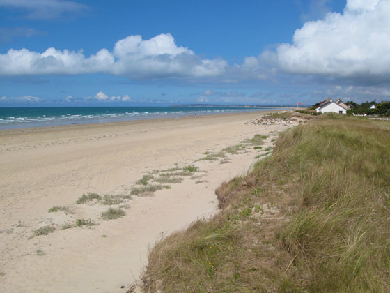 Saint R�my des Landes   and its endless sandy and deserted beaches