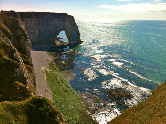 Natural arche of Etretat